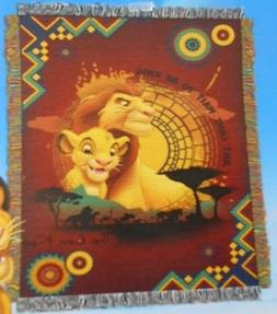 New Can't Wait To Be King The Lion King Simba Tapestry Throw