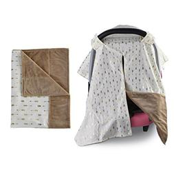 Towin Baby Car Seat Canopy and Nursing Cover Matching a Arro