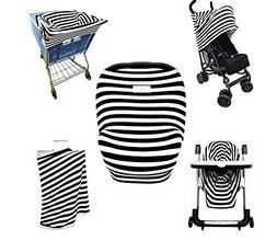 Baby Car Seat Cover- Breastfeeding Cover Nursing - High Chai