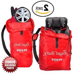 Angel Baby Car Seat and Umbrella Stroller Bag TRAVEL PACK -