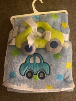"""Car two Piece Baby Blanket 30"""" X 36"""""""