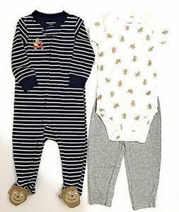 Carter's Baby Boy Monkey 3 Piece Clothing Set ~ 9 month