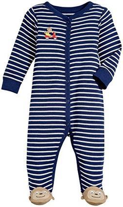 Carter's Baby Boys' Footie 115g074, Monkey, 6 Months