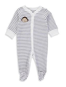 Carter's Baby Boys' Monkey Button Up Cotton Sleep & Play 3 M