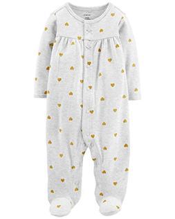 Carter's Baby Girls' Footie Sleep N Play