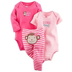 Carter's Baby Girls Take Me Away 3-Piece Little Character Se