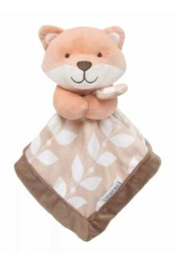 Carter's Fox Tan Brown Security Blanket Lovey