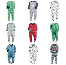 CARTER'S Infant Boy Footed Blanket Sleeper Pajamas Assorted