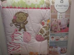 Carter's Jungle Collection 7 Piece Crib Bedding Set Nursery