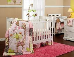 Carter's Jungle Collection 7-Piece Nursery Crib Bedding Set,