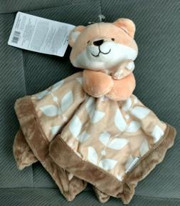 CARTER'S Security Blanket FOX Brown Orange Boys Girls Infant