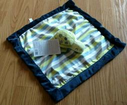 CARTER'S Security Blanket Turtle Green Blue Boys Infant Love