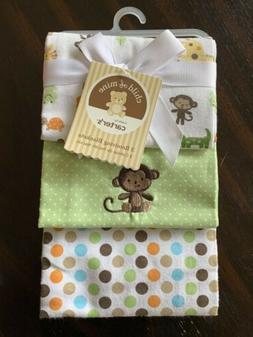 Carter's Set of 3 Receiving Blankets Unisex Gender Neutral