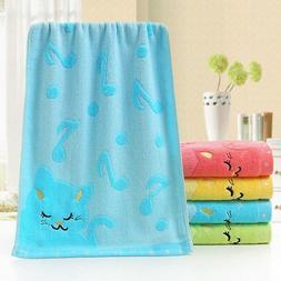 Cartoon Soft Cotton Baby Infant Newborn Bath Towel Washcloth