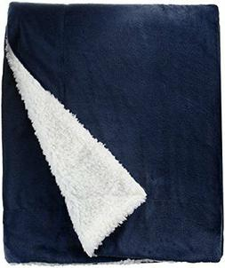 Northpoint Cashmere Velvet Reverse to Cloud Sherpa Throw, Na