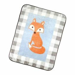 "Luvable Friends Character High Pile Blanket, 30"" x 36"""