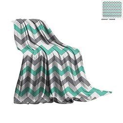Chevron Throw Blanket Chevron Pattern Geometric Wavy Zigzag