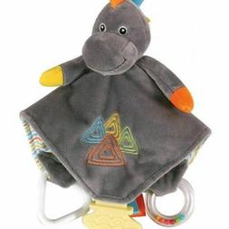Stephan Baby Chewbie Activity Toy and Teething Blankie, Dino