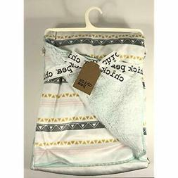 """Chick Toddler Blankets Pea Girls Aztec Print Baby 30"""" X 40"""""""
