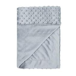Toddler Soft Baby Blanket Minky Dot- Girls Boys Crib Blanket