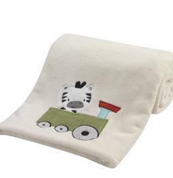bedtime originals choo choo cream blanket