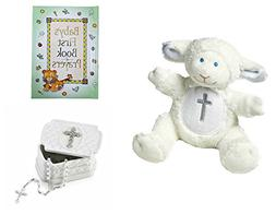 Baby Christening Baptism Gift Set – Keepsake Box Rosary La
