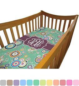 Colored Circles Crib Comforter / Quilt