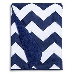 CircoTM Valboa Baby Blanket - Navy Chevron