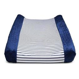 CircoTM Wipeable Changing Pad Cover - Navy Stripe by Circo