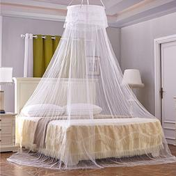 Circular Hanging Round Lace Bed Canopy Netting Bedroom Decor
