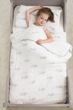 aden + anais Classic Toddler Bed in a Bag - For the Birds Ki