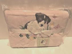 Ally & Bailey Co. Fleece Baby Blanket Pink NEW