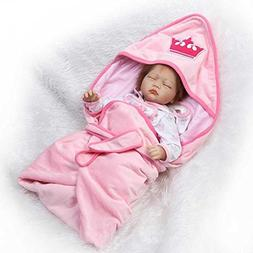 NPK Collectible 22 inch Reborn Toddler Silicone Soft Realist