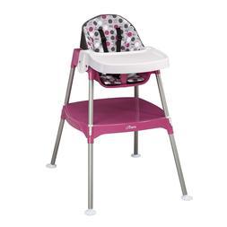 Evenflo Convertible High Chair, Dottie Rose