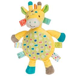 Mary Meyer E8 Baby Girl Boy Taggies 13in Gumdrops Giraffe Character Blanket