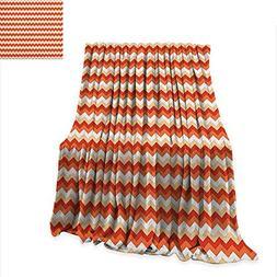 Anyangeight Coral Custom Design Cozy Flannel Blanket Horizon