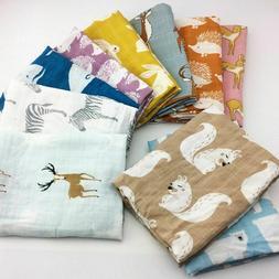 Cotton Baby Blankets Newborn Soft Organic Blanket Muslin Swa