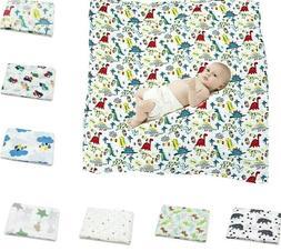 Cotton Blanket Bedding For Baby Swaddle Muslin Infant Gauze
