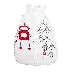 Gunamuna Cotton Dreams Gunapod Wearable Baby Sleepsack, Robo