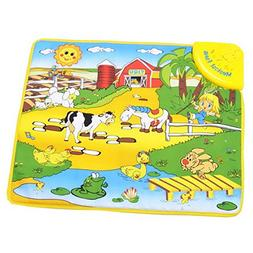 Happy Cherry Cotton Farm Waterproof Music Carpet Toy Baby's