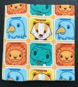 Handmade Cotton Flannel Baby Blanket - Snuggly Swaddler - Ha