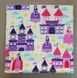 Handmade Cotton Flannel Baby Girl Receiving Blanket - Fairyt