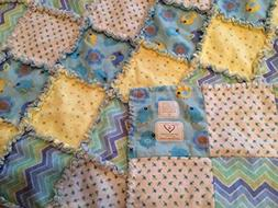 All-Cotton Flannel Baby Quilt