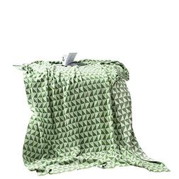 MEMORECOOL LIGHT UP YOUR HOME 100% Cotton Knit Throw Blanket