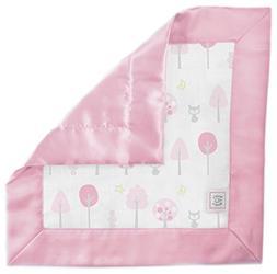 SwaddleDesigns Cotton Muslin Baby Lovie, Security Blanket, P