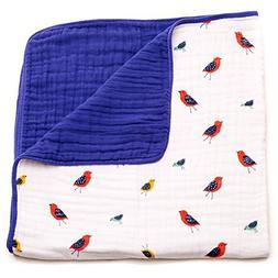 Little Unicorn Cotton Muslin Blanket Quilt - Little Wings