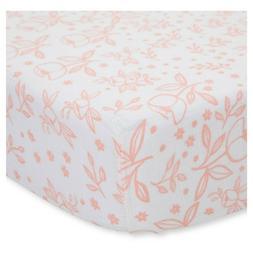Little Unicorn Cotton Muslin Crib Sheet - Garden Rose