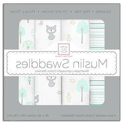 cotton muslin swaddle blankets