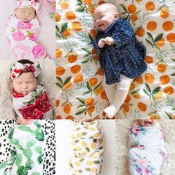 Cotton Soft Baby Infant Newborn Boy Girl Swaddle Wrap Blanke