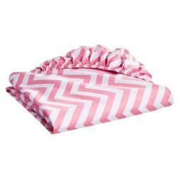 Circo® 100% Cotton Woven Chevron Fitted Baby Crib Sheet pin